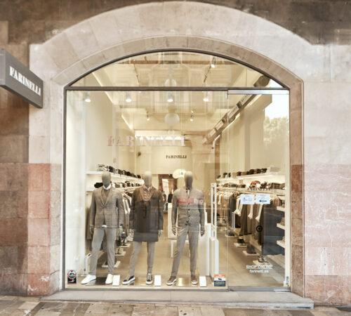 Tienda Farinelli moda de lujo en Palma de Mayorca, Jaime III, 2. Moda Hombre