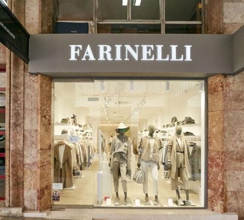 Tienda Farinelli moda de lujo en Palma de Mayorca, Jaime III, 16